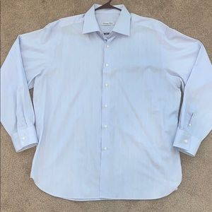 CHRISTIAN DIOR Men's Button Up Dress Shirt